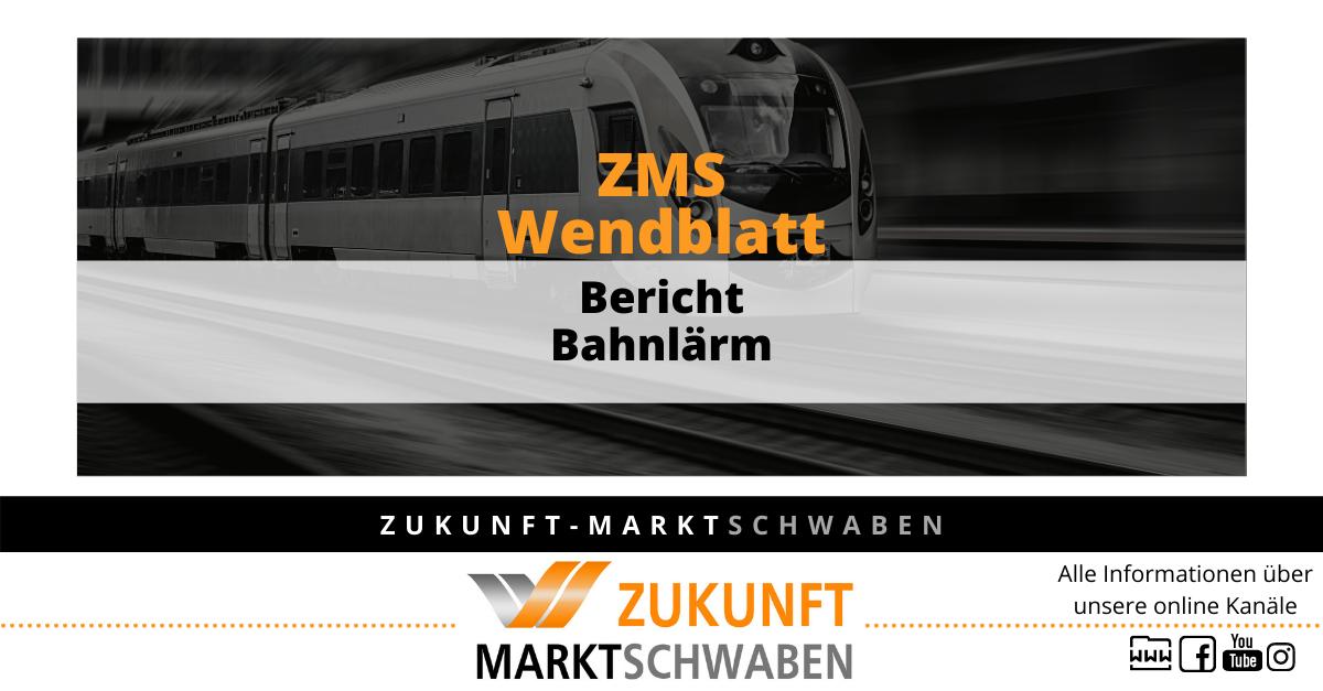 Wendeblatt 10 Zms Bahnlärm
