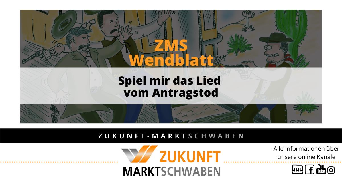 Wendeblatt 10 Zms Spiel Mir Das Lied Vom Antragstod
