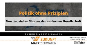 Politik ohne Prinzipien ZMS Wendeblatt